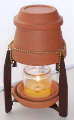 Kandle Heeter tm Candle Holder